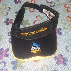 Walt Disney vintage visor donald duck